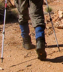 Boots should be comfortable, well fitted, have a strong sole and provide ankle support © Jeremy Carter