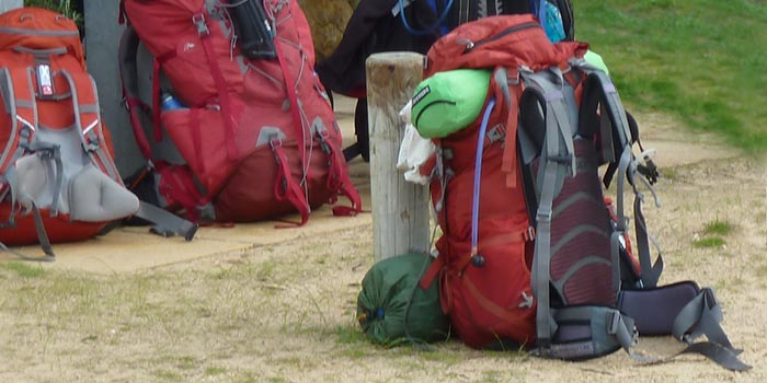 Gear for hire hiking camping  © Sonja van Wegen