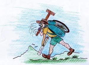 J. Bartlett cartoon