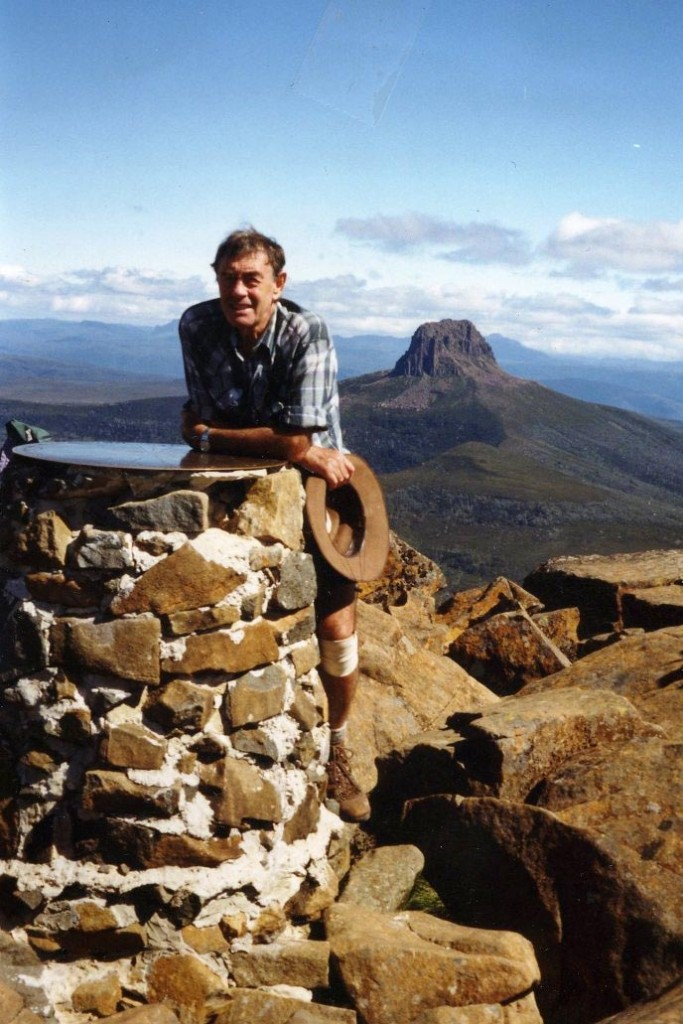 On Cradle Mountain for the second time, March 1999