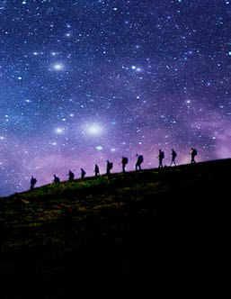Night Skies for Bushwalkers this Spring