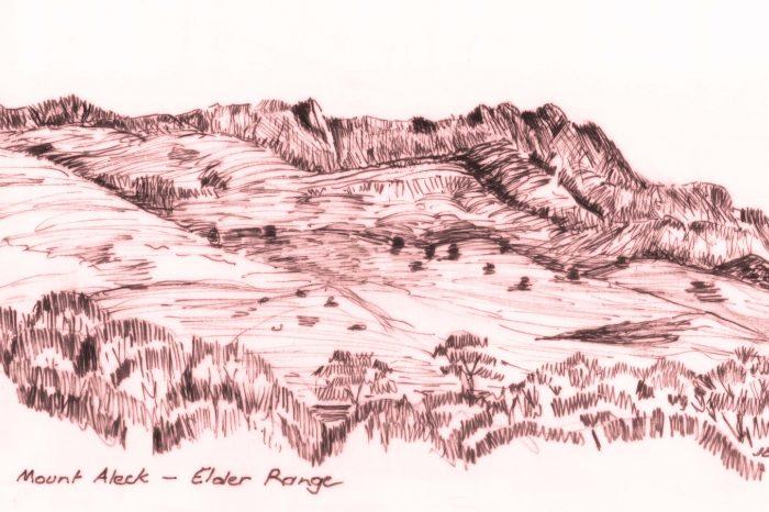 Mount Aleck, Elder Range
